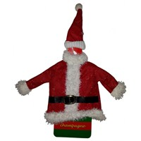Kemerli Noel Baba Şişe Elbisesi Kılıfı