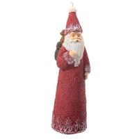 Sepet Taşıyan Noel Baba Uzun Mum
