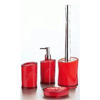 Hiper 4'Lü Banyo Seti Kırmızı