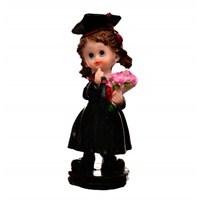 Decotown Mezuniyet Kız Çiçek Biblo D