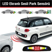 Led Ekranlı Sesli Park Sensörü