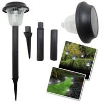 Kablosuz Solar Plastik Bahçe Lambası Garden Lamp (Büyük)