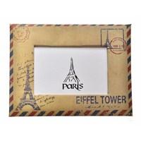 Decotown Mektup Zarf Eyfel Kulesi Fotoğraf Çerçevesi
