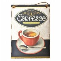 Decotown Espresso Ahşap Pano 30*40 (18079)