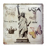 Decotown Usa Metal Levha 30*30-Hs-200