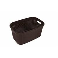 Saban Çamaşır Selesi 40 Lt (Hasır görünümlü) -Kahverengi