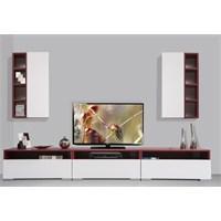 Kenyap Plus 814151 Diamond Tv Ünitesi Bordo