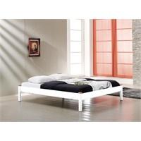 Unimet Lulis 160 x 200 Metal Karyola Beyaz
