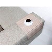 Esser - Koltuk Sehpası - Beyaz Meşe 30x50