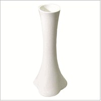 Kırılmaz Fil Ayağı 60 cm Beyaz Vazo