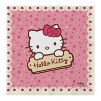 Hello Kıtty Kağıt Peçete 33X33cm (16 Ad)