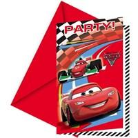 Cars 2 Davetiye (6 Ad)