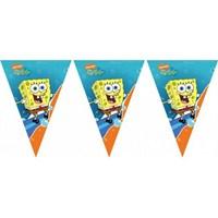 Sponge Bob Surfıng Üçgen Bayrak Set