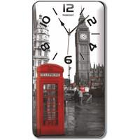 Londra Manzaralı Duvar Saati