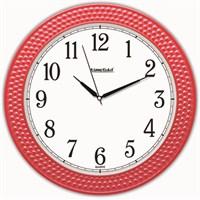 Kırmızı Boncuk Okunaklı Duvar Saati