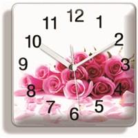 Gül Demeti Mıknatıslı Saat
