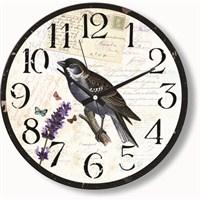 Serçe Kuşu Duvar Saati