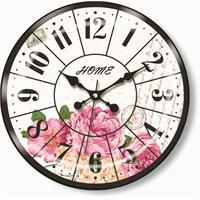 Home Bombe Camlı Duvar Saati