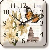 Kız Kulesi Silüetli Duvar Saati