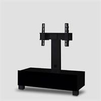 Sonorous Tr-1095-Blk-Blk Siyah Cam , Siyah Gövde Tv Sehpası