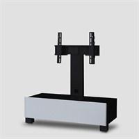 Sonorous Tr-1095-Blk-Wht Siyah Cam , Beyaz Gövde Tv Sehpası