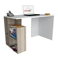 Dekorister Labran Çalışma Masası Beyaz/Cordoba