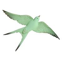 Açık Yeşil Renkli Üçlü Kırlangıç