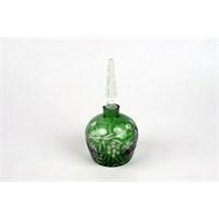 Yeşil Parfüm Şişesi