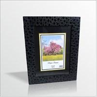 15x21 cm Siyah Puanlı Cam Muhafazalı Çerçeve