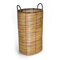 Hasır Oval Şemsiyelik/Çamaşır Sepeti