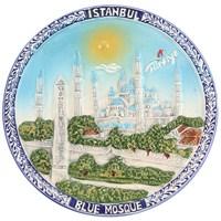 16Cm Sultanahmet Renkli Tabak