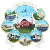 20Cm Ayasofya İstanbul Temalı Tabak