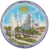 20Cm Sultanahmet Renkli Tabak