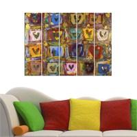 Dekorjinal 5 Parçalı Dekoratif Tablo Vsrm017