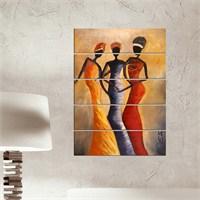 Dekorjinal 5 Parçalı Dekoratif Tablo Vsrm023