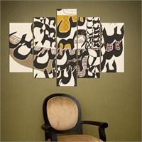 5 Parçalı Dekoratif Tablo Y5tp070