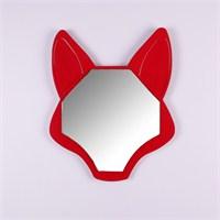 Reynard Tilki Şekilli Ayna Kırmızı