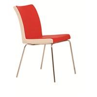 Nav Decoration Elegans Sandalye Kırmızı/Beyaz