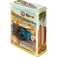 VW Bulli, Ready for Summer Teneke Saklama Kutusu (XL)