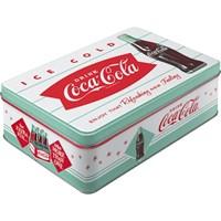 Coca-Cola - Dinner Yatay Teneke Saklama Kutusu