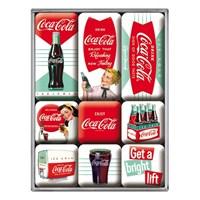 Coca-Cola Diner Magnet Set (9 parça)