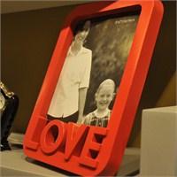 Nektar Love Kırmızı Çerçeve 13X18
