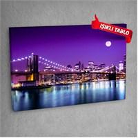 Köprü-Dm105 Led Işıklı Kanvas Tablo 50X70 Cm