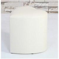 Mobline Kalp Puf Beyaz 45X45 Cm