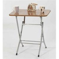 Ellnaz Yana Yatan Mutfak ve Balkon Masası Sümela 45x60