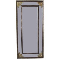 Klasik Ayna 52x113 Kahve