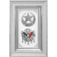 Hilalli Osmanlı Arması Tablo