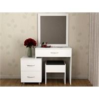 Evmanya Haus Makyaj Masası/Aynası - Beyaz