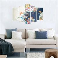 5 Parçalı Dekoratif Tablo DEC052
