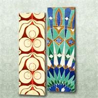 Dekorjinal 2 Li Dikdörtgen Kanvas Tablo Seti Sel057